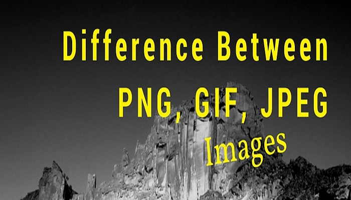Difference Between PNG, GIF, JPEG