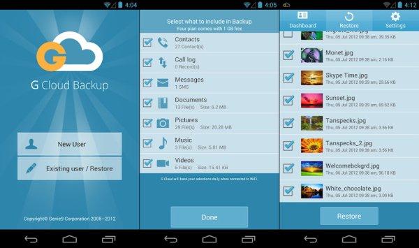 G-Cloud-Backup app