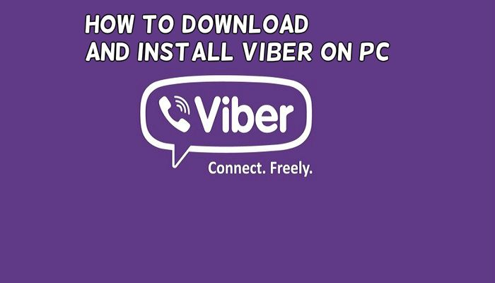 how to download viber on pc
