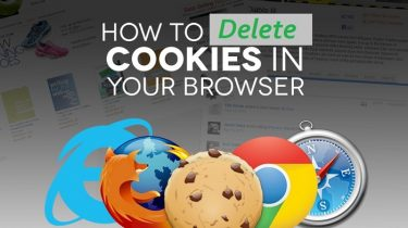 How to delete cookies in your Internet Browser