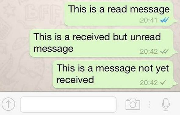 WhatsApp no blue ticks