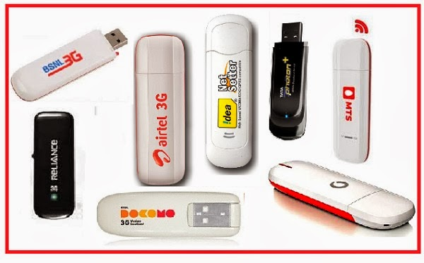 Which Is The Best 3G Dongle Tata Docomo, Wifi Dongle, Airtel, Idea Or Vodafone