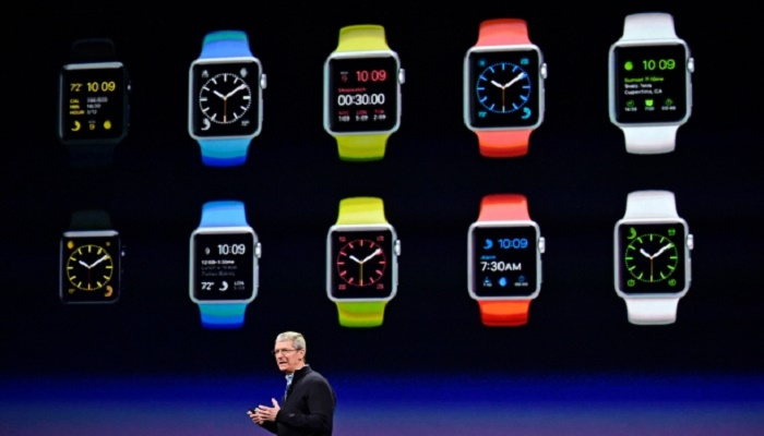 Apple watch live 2015 March