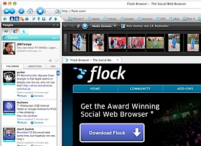 Flock Web Browser