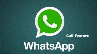 Whatsapp Call Feature