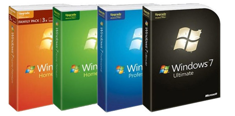 Windows 7 installation disks