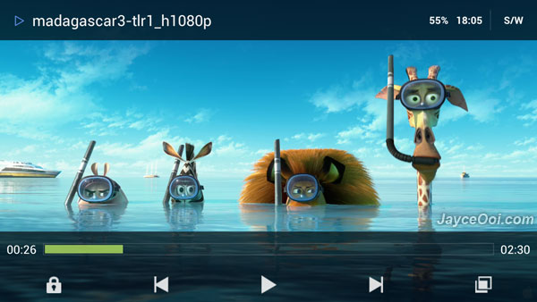 mx player for Samsung S4 E300 cho android