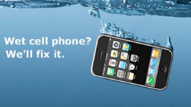 Fix a wet cellphone