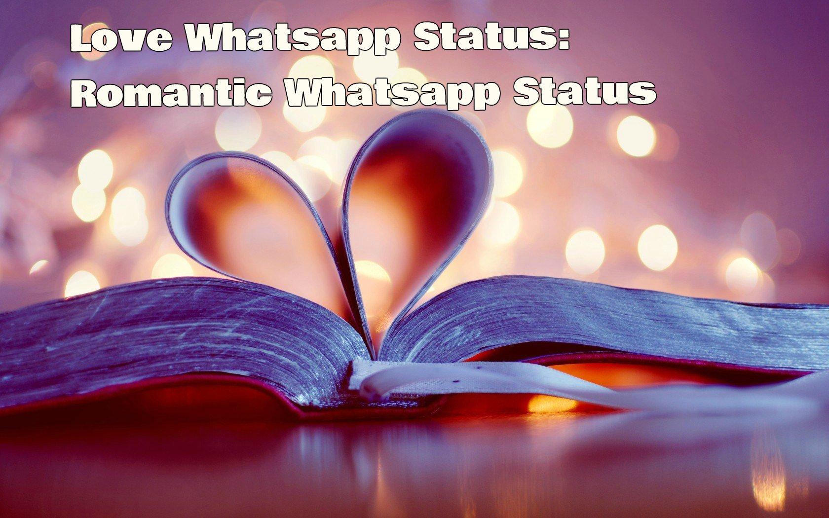Latest Top 150 Love Whatsapp Status Romantic Whatsapp Status