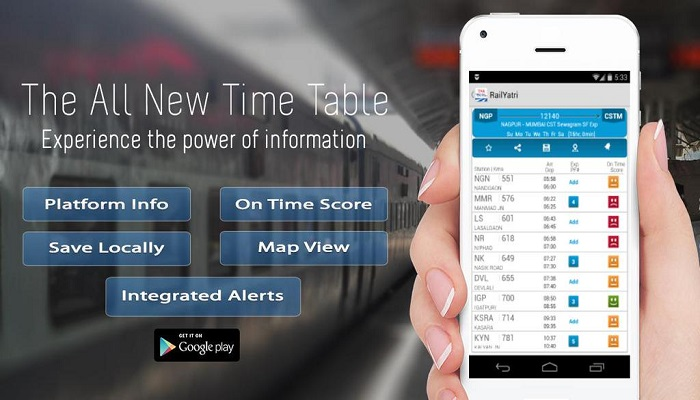 RailYatri.in A Super Intelligent App to check PNR Status