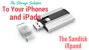 Sandisk iXpand: A flash drive for your iPhone and iPad