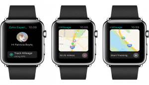 Zoho Delivers Business Apps for Apple Watch