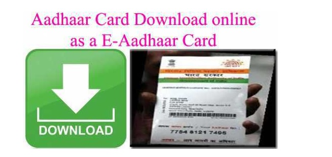 Aadhar Card Download Update Check Status Online
