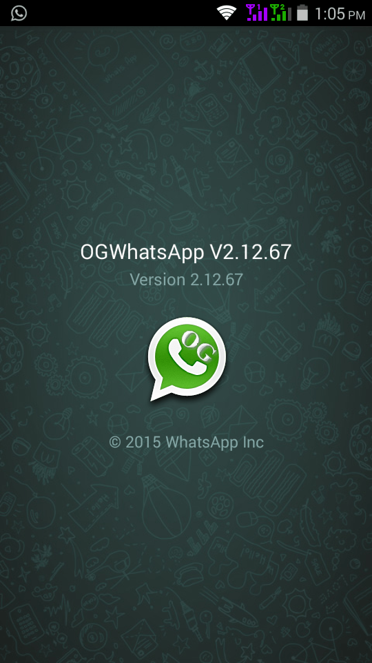 Download OGWhatsApp OG Whatsapp APK 2015