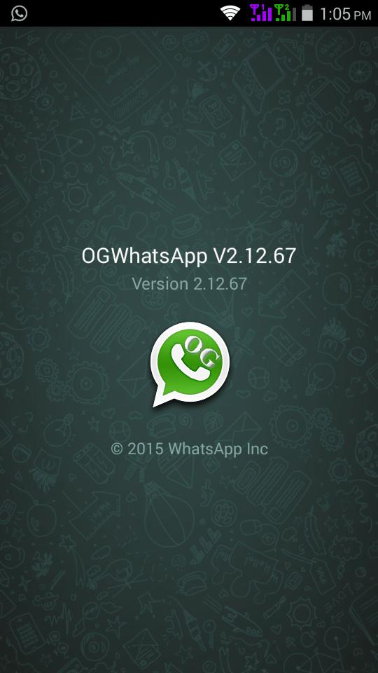 Download OGWhatsApp OG Whatsapp APK 2015