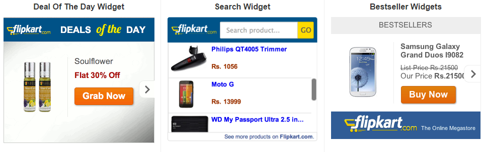 Flipkart Affiliate Marketing Program in India banners