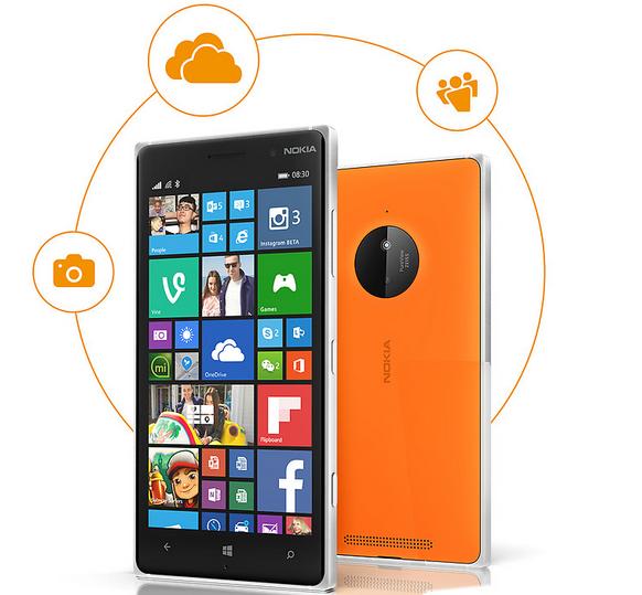 Lumia 830 design specs