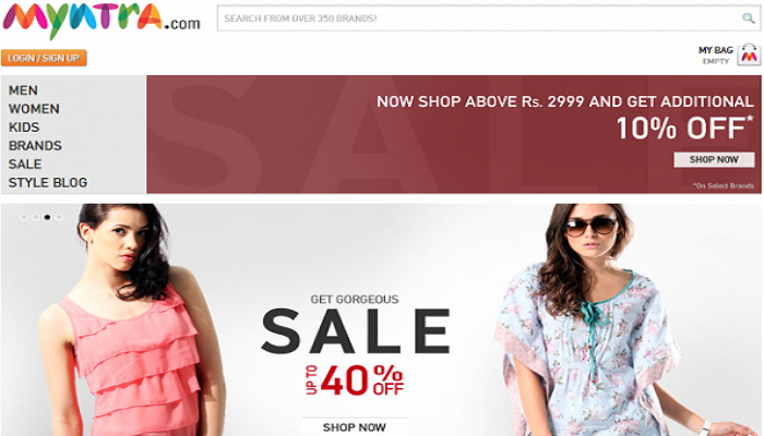 Myntra Coupons | Cashback Offers and Discounts