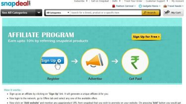 Snapdeal-affiliate-program review