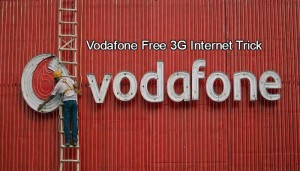 Top Working Vodafone Free 3G Internet Trick May 2015