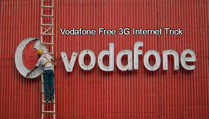 Vodafone Free 3G Internet trick