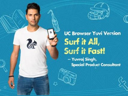 UC Browser Announces Appointment of Yuvraj Singh as Consultant and Brand Ambassador
