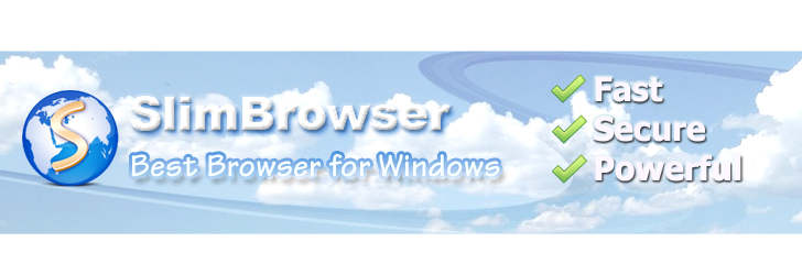 SlimBrowser App for Windows 8/8.1/PC and MAC