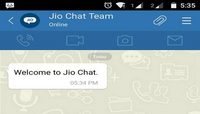 Jio Chat App for Windows 8/8.1/PC and MAC