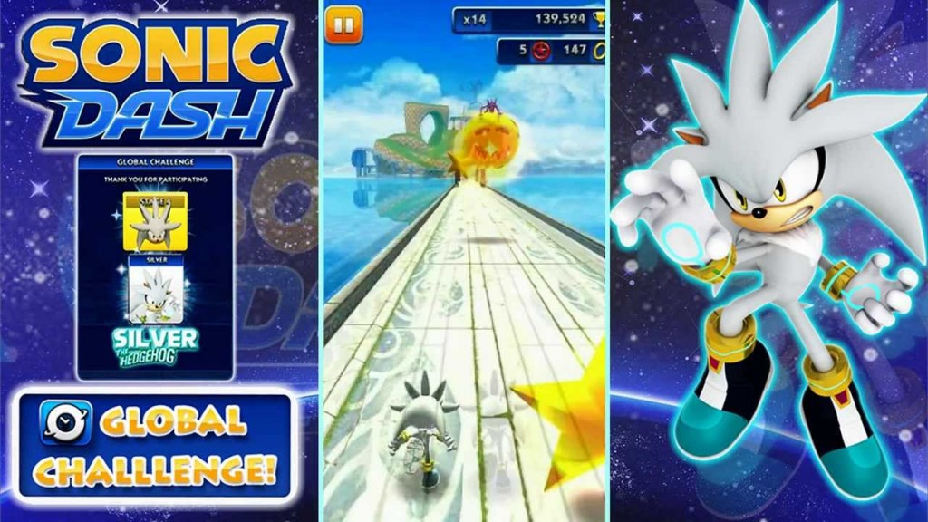 Sonic Dash Game for Windows 8/8.1/PC and Mac