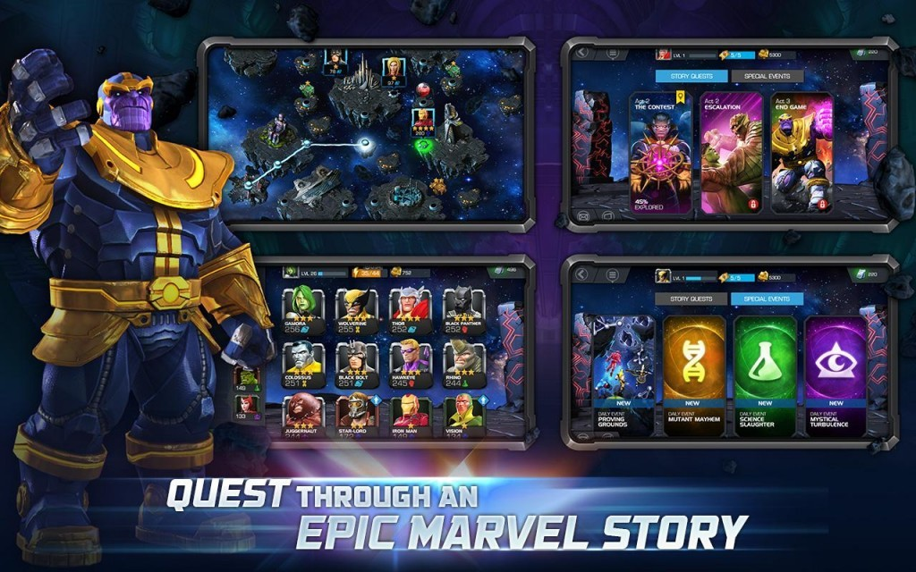 Скачать marvel contest of champions на компьютер