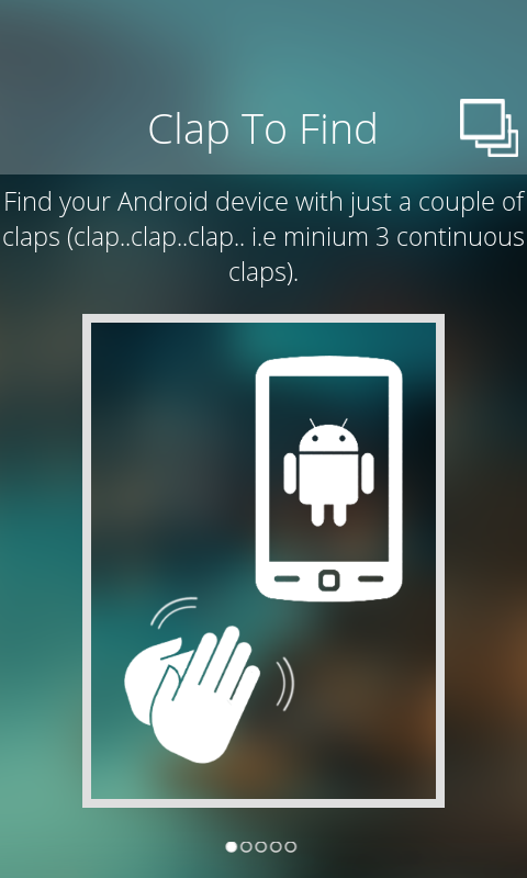 Find Android Phone Even On Silent Mode using clap to find app