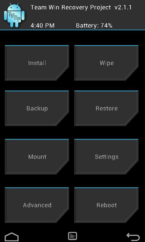 install cyanogenmod 12S software update