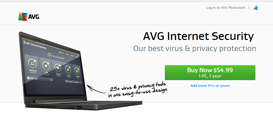AVG Antivirus and Internet Security Virus Protection