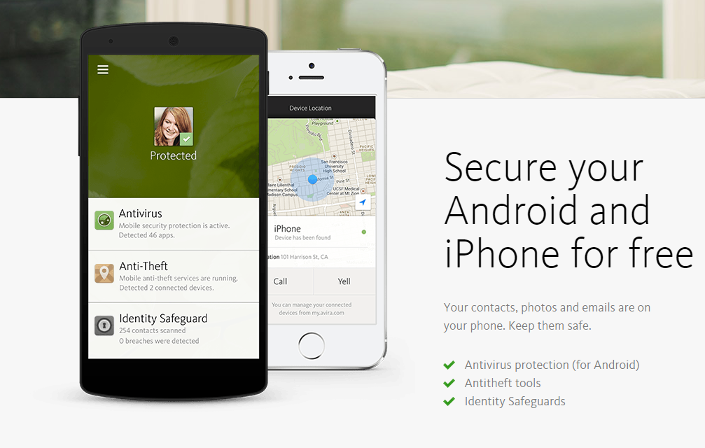 Avira Android protecttion