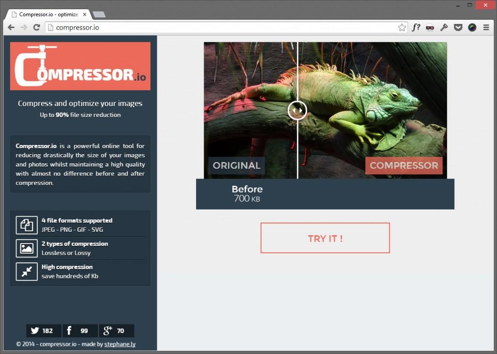 Best 10 Online Image Compressors Compressor.io