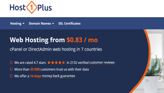 Host1Plus  VPS Hosting  Web Hosting   Dedicated Servers