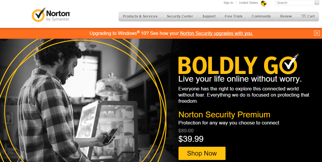 NORTON Antivirus Software and Spyware Removal
