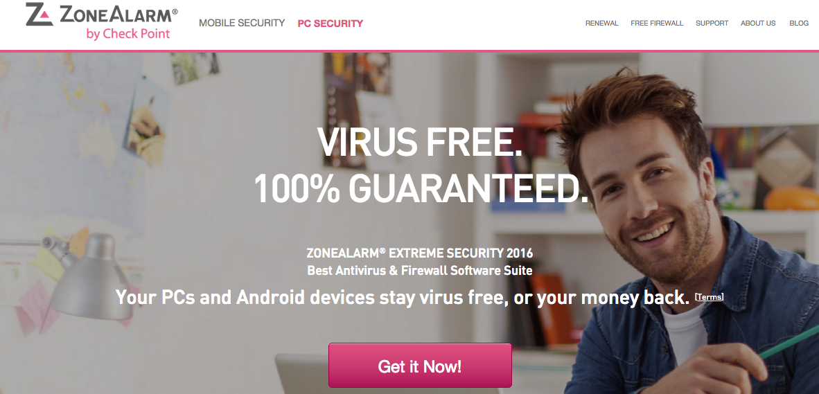 ZoneAlarm Professional Firewall Antivirus Security Software