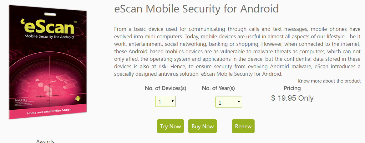 eScan for Android