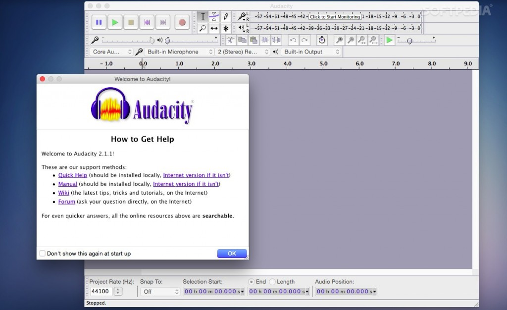 Download Audacity for PC or Laptop on Windows 7_8 _8.1_10 & Mac