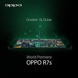 OPPO to unveil the R7 Series at GITEX 2016