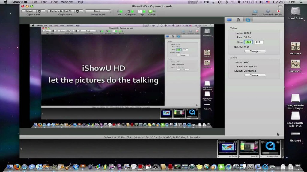iShowU HD 7 Best Screen Recorders for Capturing Mac OS X