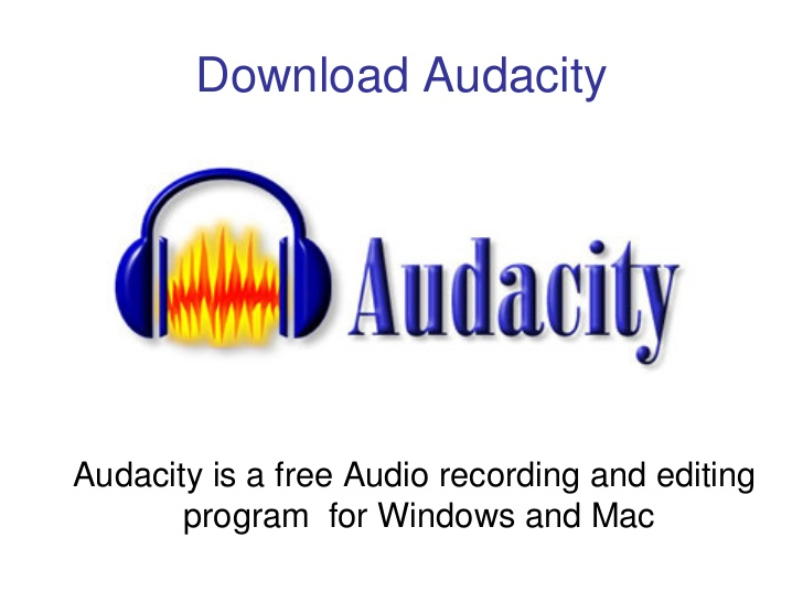 logo Download Audacity for PC or Laptop on Windows 7_8 _8.1_10 & Mac