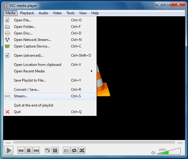 option Download VLC media Player