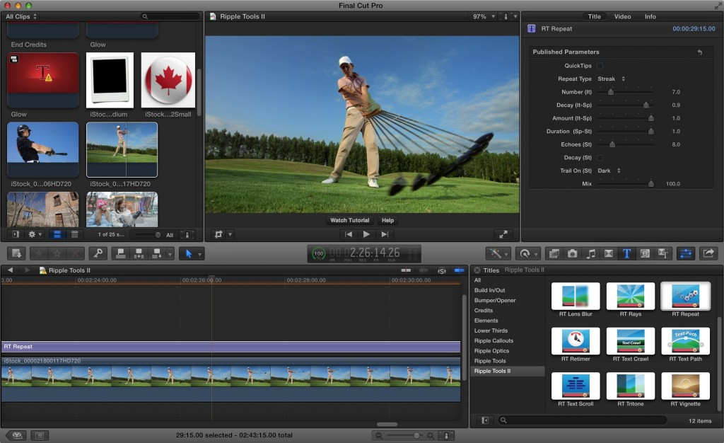 warp Download Final Cut Pro for Mac Full Version