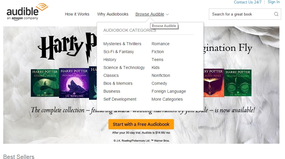 Download Audible for PC or Laptop for Windows 7_8_8.1_10_XP and Mac