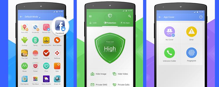 Leo Privacy guard interface
