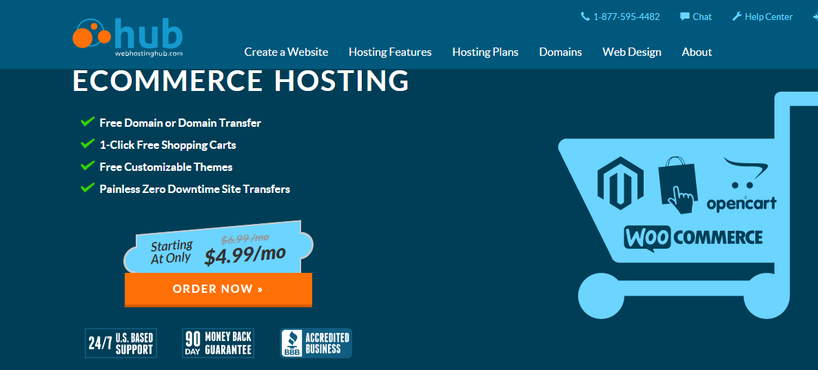 Web Hosting Hub Ecommerce Hosting Services