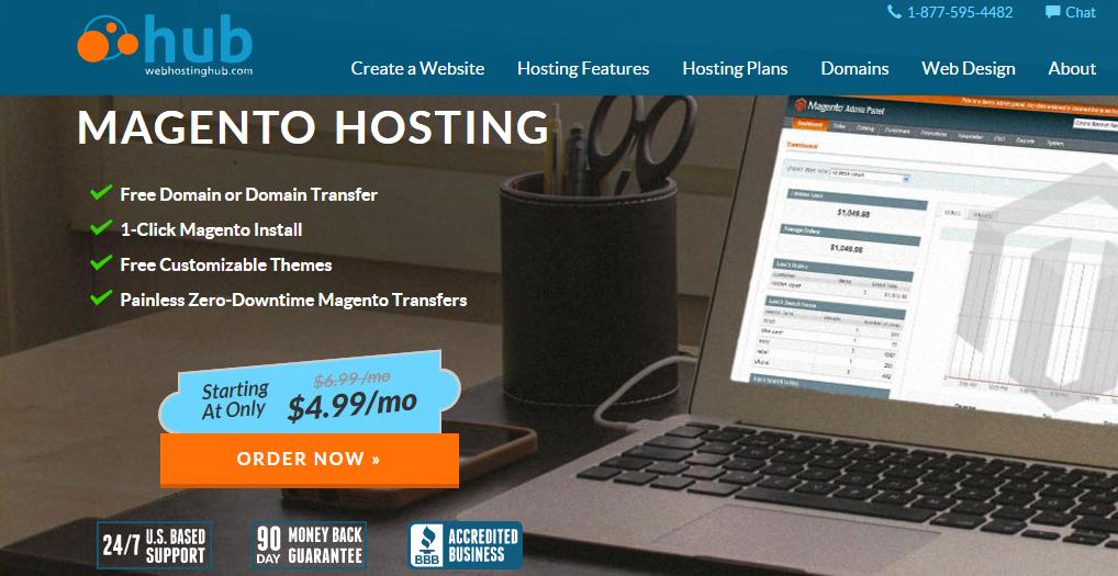 Web Hosting Hub Magento Hosting Services