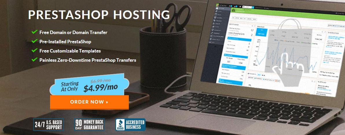 Web Hosting Hub Prestashop Hosting Services